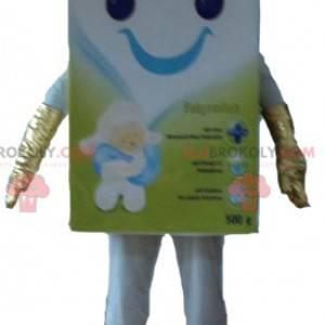 Mascote Blédine de preparação de comida para bebê -