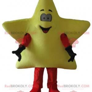 Søt og smilende gigantisk gul stjernemaskott - Redbrokoly.com