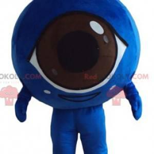 Giant blue eye mascot all round and cute - Redbrokoly.com