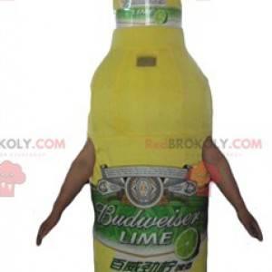 Lemonade bottle glass mascot - Redbrokoly.com