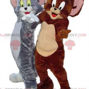 Tom und Jerry Maskottchen berühmte Charaktere aus den Looney