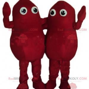 2 maskoti z červených brambor - Redbrokoly.com