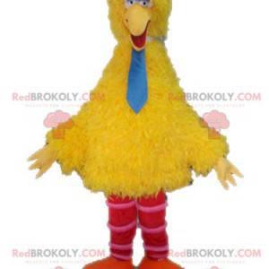 Big Bird mascot famous yellow bird of Sesame Street -
