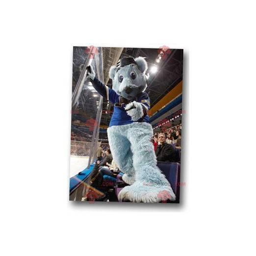 Všechny maskot chlupatý šedý medvěd - Redbrokoly.com