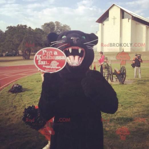 Black panther mascot - Redbrokoly.com
