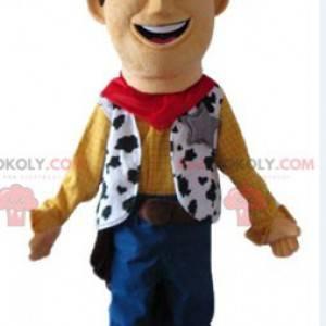 Toy Story beroemde cowboy Woody-mascotte - Redbrokoly.com