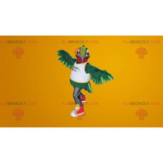 Kjempegrønn kolibri maskot - Redbrokoly.com