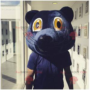 Girondins de Bordeaux modrý medvěd maskot hlavy - Redbrokoly.com