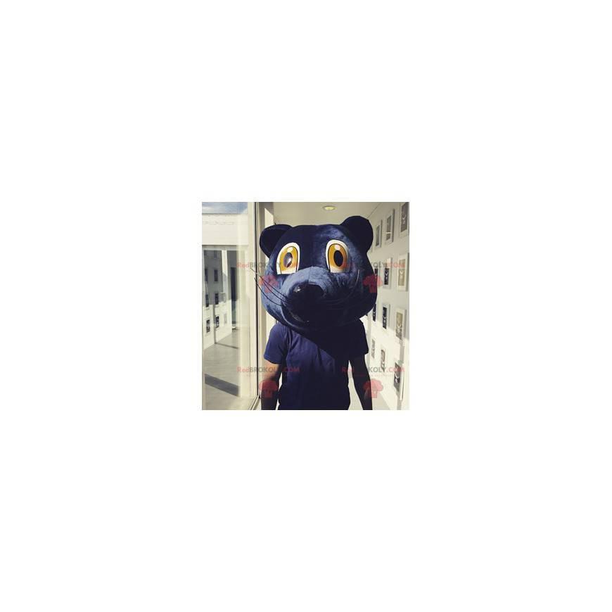 Maskottchen des blauen Bärenkopfes Girondins de Bordeaux -