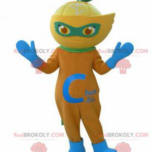 Clementine citron oranžový maskot - Redbrokoly.com