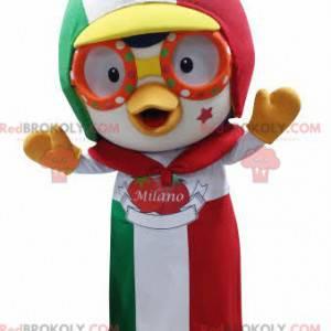 Ptačí maskot s čepicí a zástěrou - Redbrokoly.com