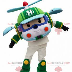 Childrens toy helicopter mascot - Redbrokoly.com