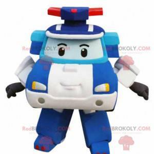 Transformátor policejní auto maskot - Redbrokoly.com