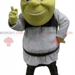 Dibujos animados famosa mascota de shrek ogro verde -