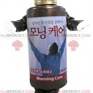 Shampoo bottle mascot. Lotion mascot - Redbrokoly.com