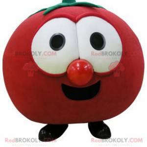 Gigantisk rød tomat maskot. Fruktmaskott - Redbrokoly.com