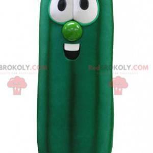 Obří zelený cuketový maskot. Zeleninový maskot - Redbrokoly.com