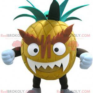 Giant and intimidating pineapple mascot - Redbrokoly.com