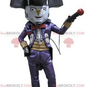 Ukazuje maskota klaunské postavy klauna - Redbrokoly.com