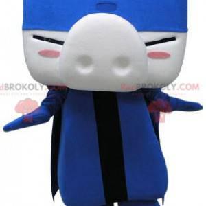 Pig mascot with a big nose - Redbrokoly.com