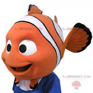 Nemo mascot. Nemo-shaped head mascot - Redbrokoly.com