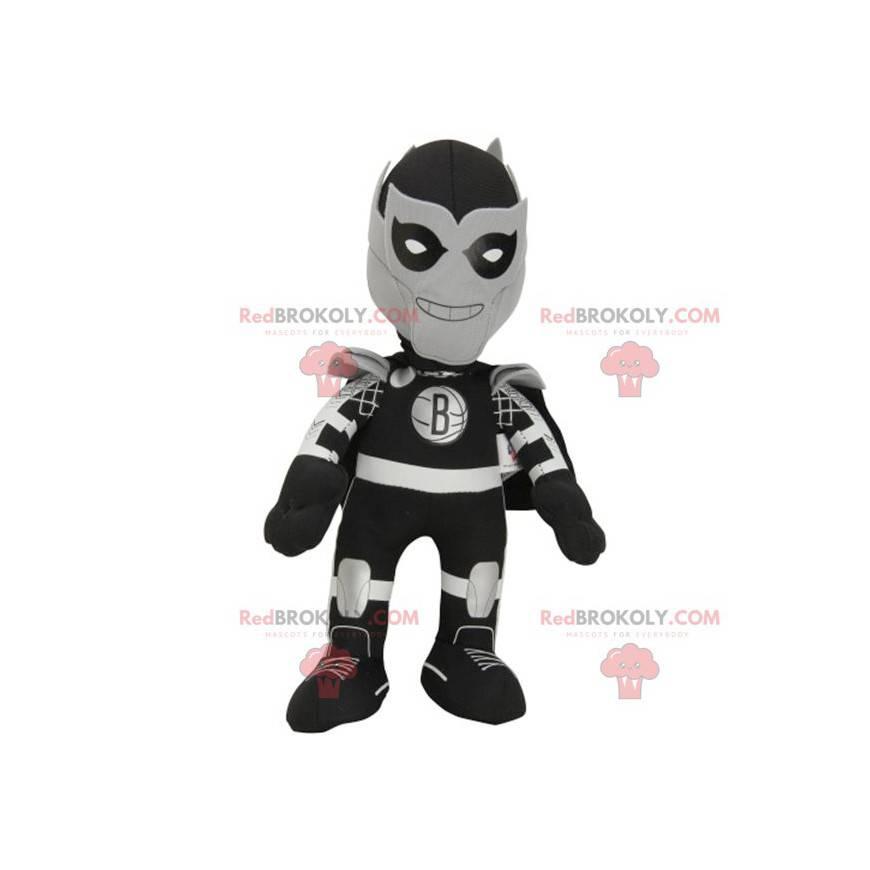 Maskot postavy superhrdiny fantasy - Redbrokoly.com