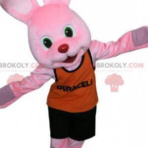 Maskot slavného růžového králíka Duracell. Růžový králík -