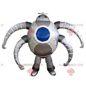 Futuristic spider robot mascot - Redbrokoly.com