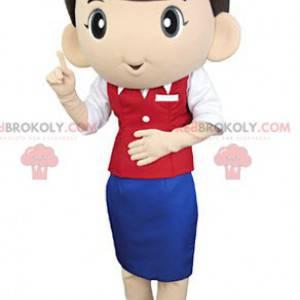 Flugbegleiter Maskottchen - Redbrokoly.com