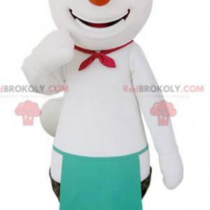 Velmi usměvavý maskot ledního a černého medvěda - Redbrokoly.com