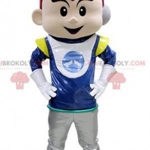 Chlapec maskot v astronaut oblečení - Redbrokoly.com