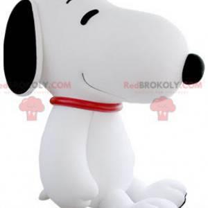 Mascotte del cane famoso dei cartoni animati di Snoopy -