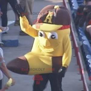Mascot shaped like a giant banana - Redbrokoly.com