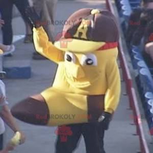 Maskot formet som en gigantisk banan - Redbrokoly.com
