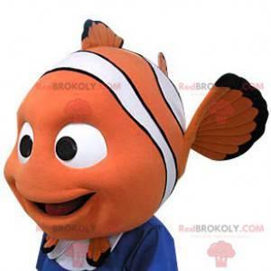 Nemo maskot. Maskot ve tvaru hlavy Nemo - Redbrokoly.com