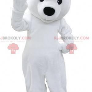 Polar bear mascot white teddy bear - Redbrokoly.com