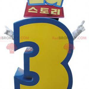 Mascote de Toy Story 3. Figura gigante 3 - Redbrokoly.com
