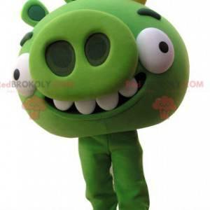 Maskot Angry Birds. Zelené prase maskot - Redbrokoly.com