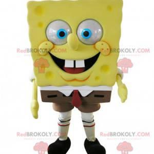Mascot SpongeBob famoso personaggio dei cartoni animati -