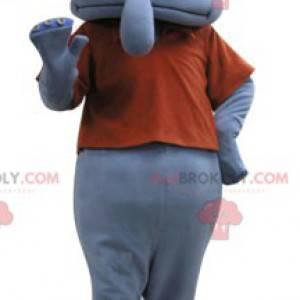 Mascot Carlo Tentacle berømte karakter i SpongeBob SquarePants