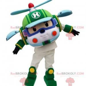 Børne legetøjshelikopter maskot - Redbrokoly.com