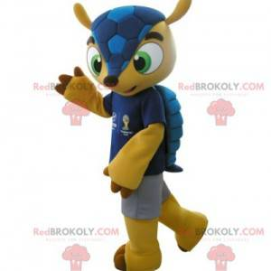 Famous Fuleco mascot of the 2014 World Cup - Redbrokoly.com
