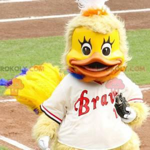 Kylling gul and maskot - Redbrokoly.com