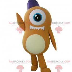 Orange Cyclops fremmed maskot - Redbrokoly.com