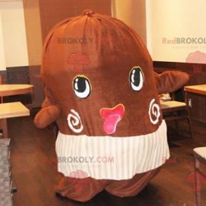 Obří maskot kakaových bobů - Redbrokoly.com