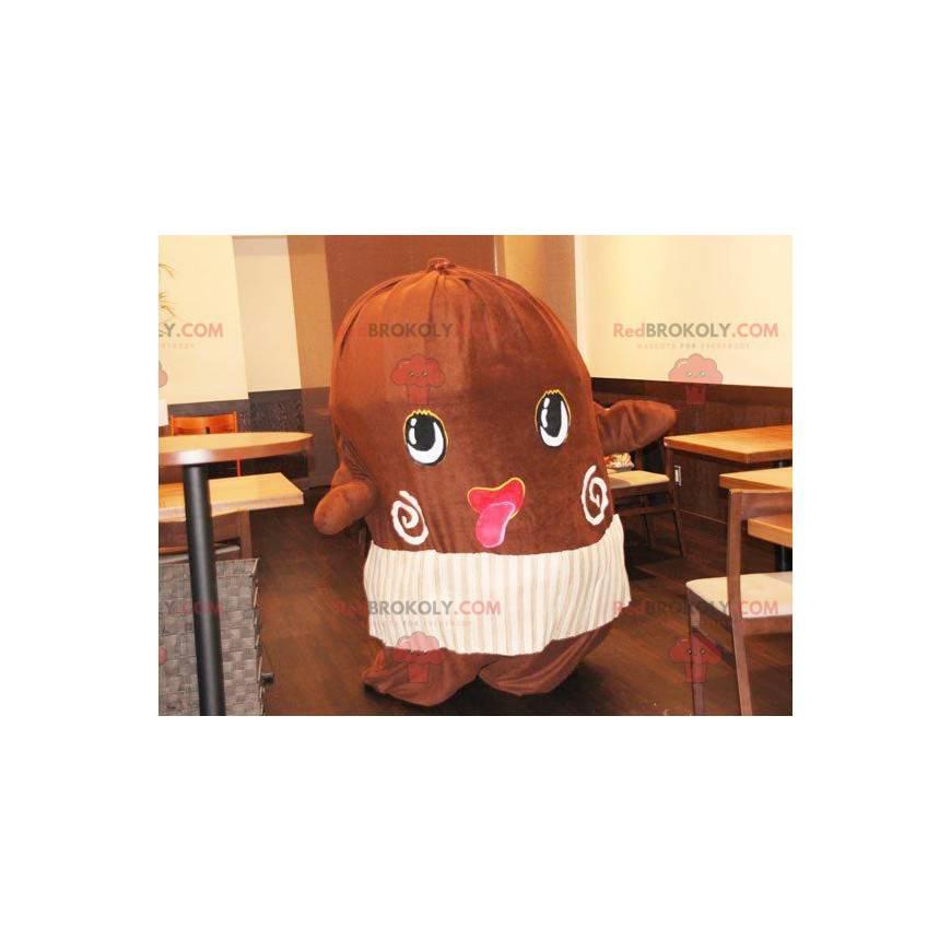 Riesiges Kakaobohnen-Maskottchen - Redbrokoly.com