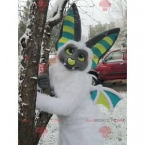 Barevný a chlupatý maskot bat - Redbrokoly.com