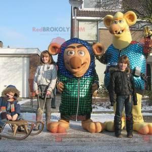 2 mascots of gnome monsters - Redbrokoly.com