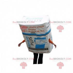 Mascot plaster coating. Construction mascot - Redbrokoly.com