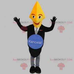 Czarno-złota maskotka wieczne pióro - Redbrokoly.com